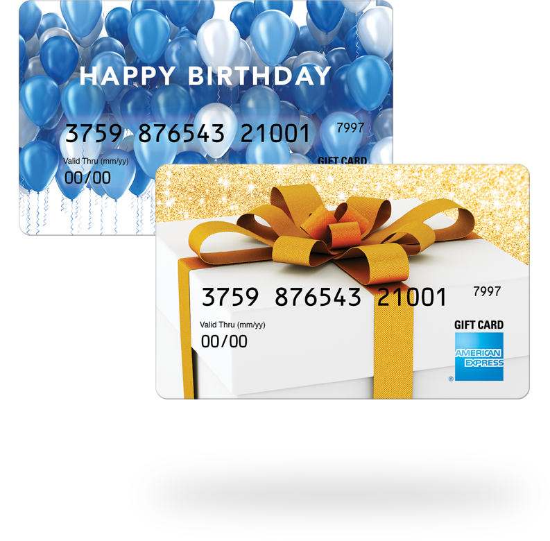 Personal Gift Cards from American Express